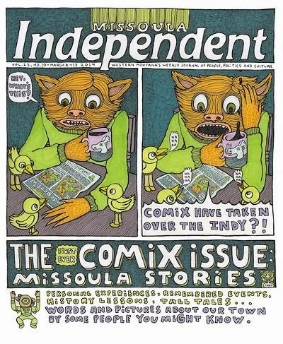 The Missoula independent Comix Issue: