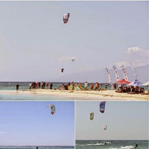 kitesurfing tabuhan island