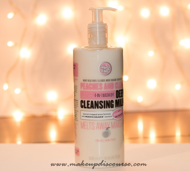 Soap and Glory Peaches and Clean Deep Cleansing Milk ~ Price, Where to buy