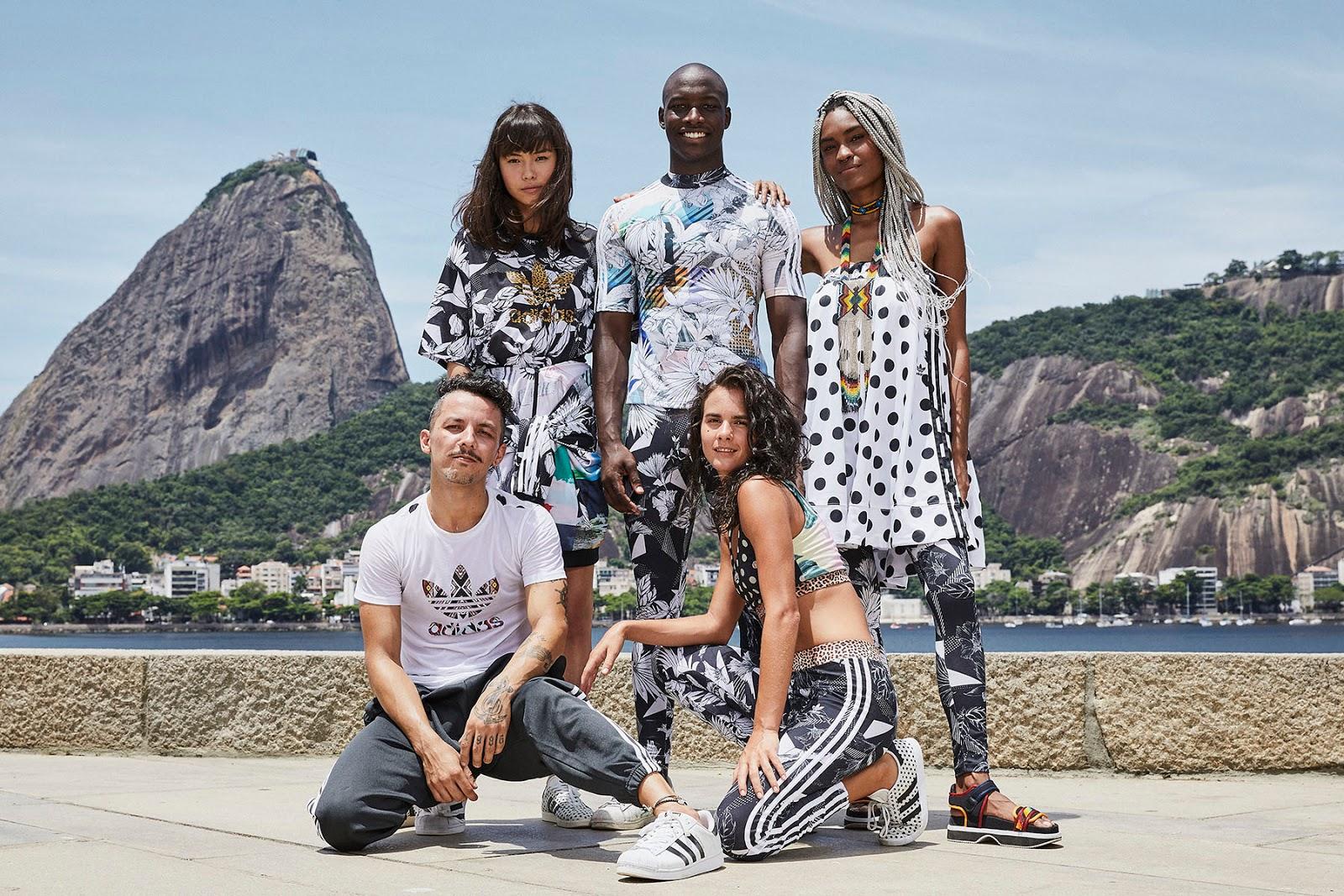 1ce4bfecce2 MODA  FARM lança nova coleção em parceria com adidas Originals