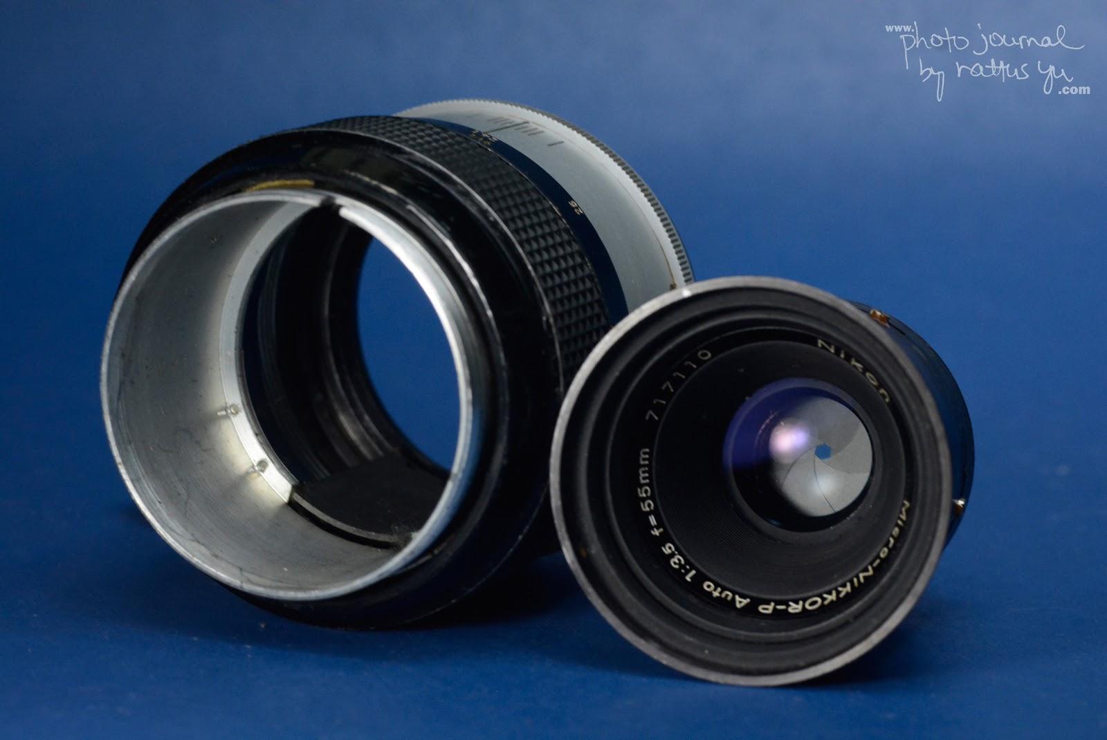 Micro-Nikkor-P 55mm f/3.5 (Pre-AI Version), Serial# 717110 of 1974