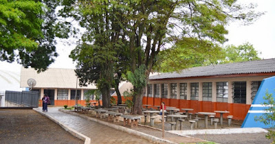 Resultado de imagem para escola castelo branco borrazopolis