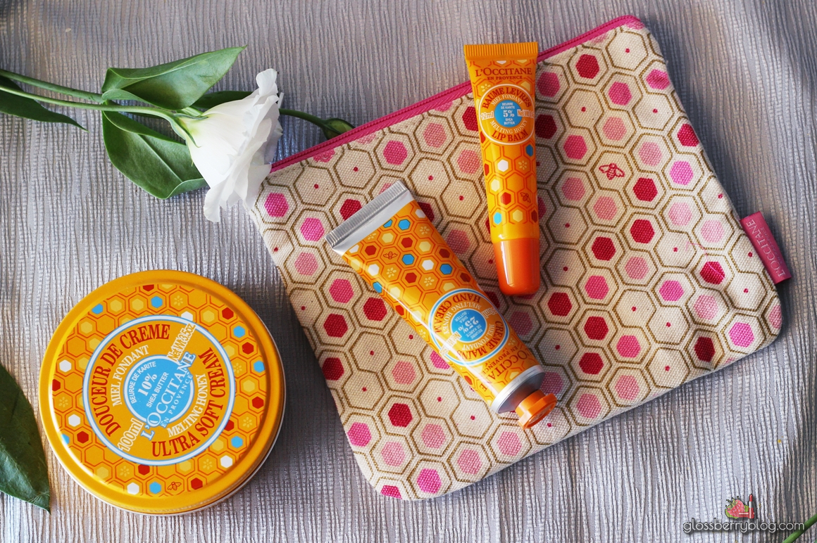 L'Occitane - Honey and Shea Collection ל'אוקסיטן דבש שיאה טיפוח לוקסיטן גלוסברי