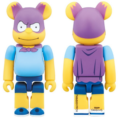 The Simpsons Bartman 100% Be@rbrick Vinyl Figure by Medicom