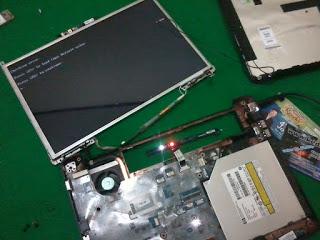 Servis Motherboard Laptop (Laptop Mati Total, Tidak Tampil, Mati-mati, Hang)