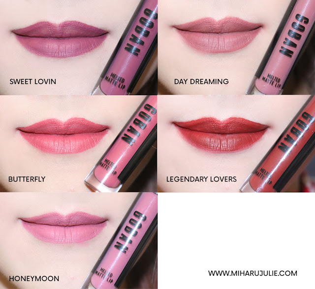 review goban lipstick