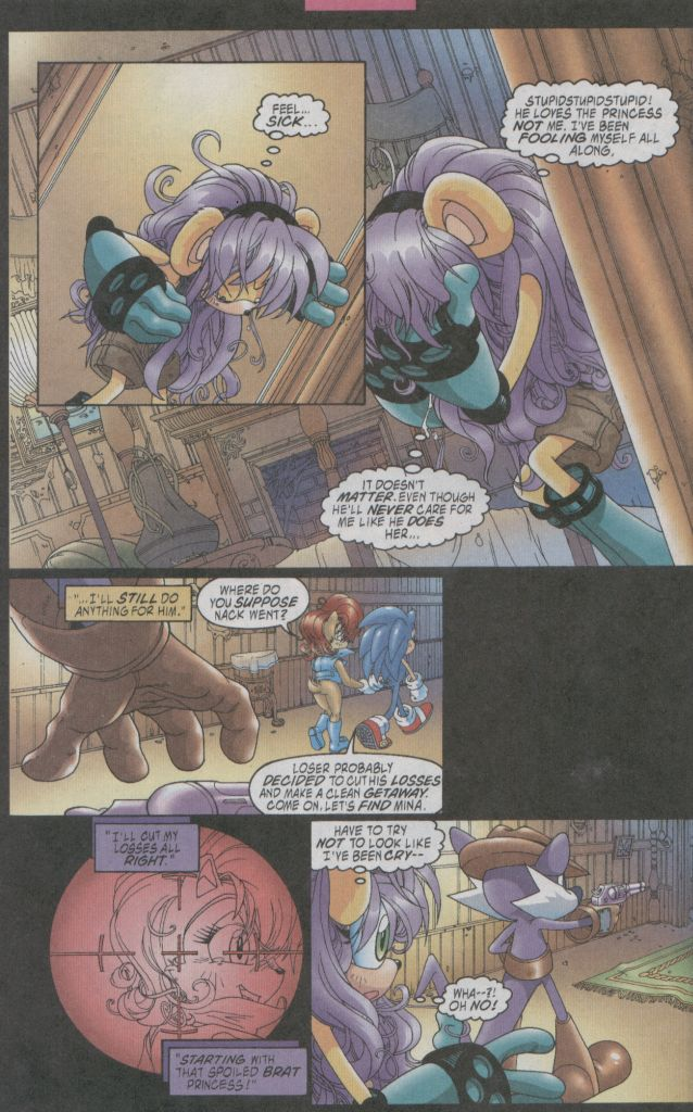 Read online Sonic The Hedgehog comic -  Issue #123 - 11