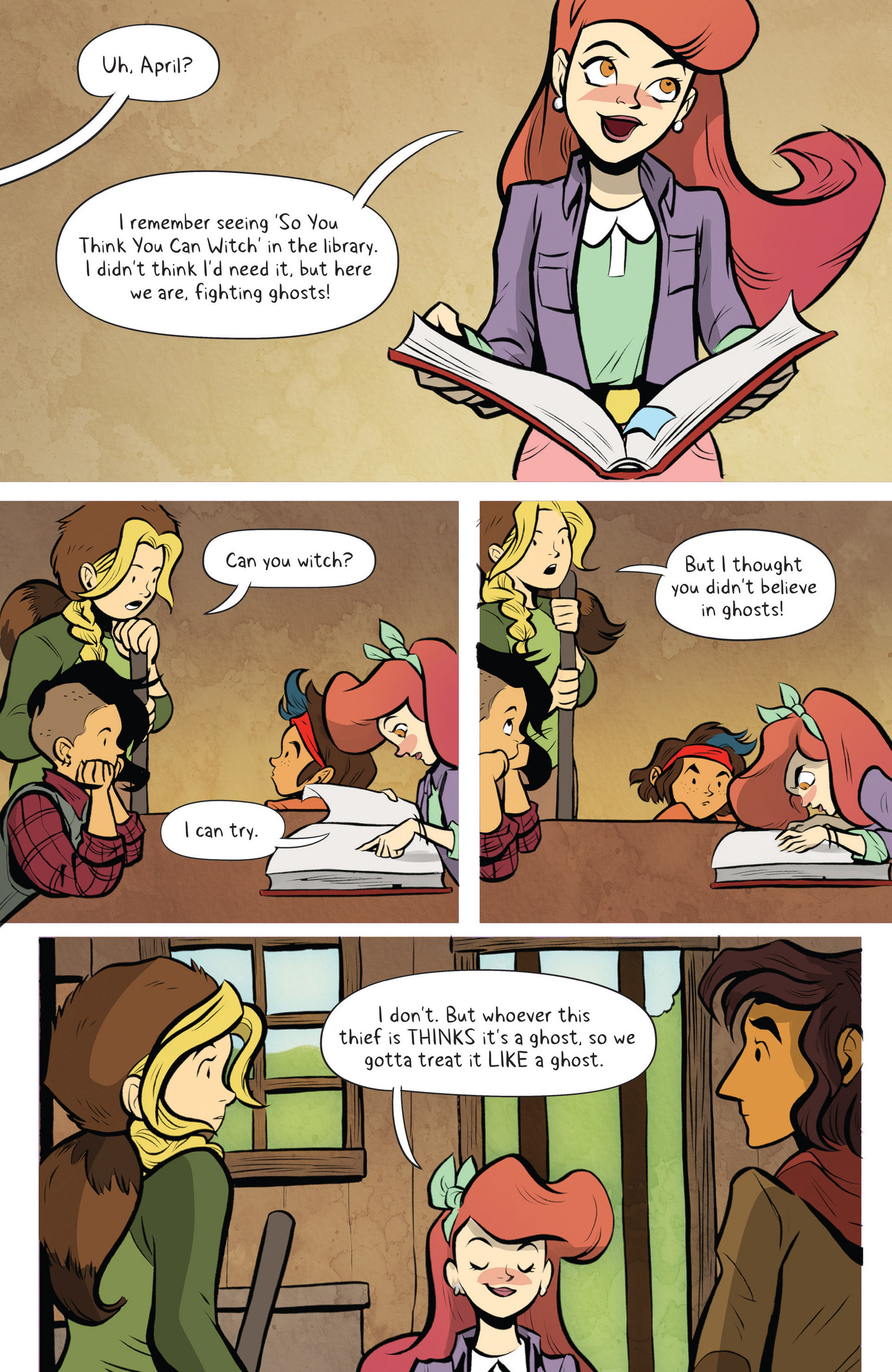 Read online Lumberjanes: Makin' the Ghost of It 2016 Special comic -  Issue # Full - 22
