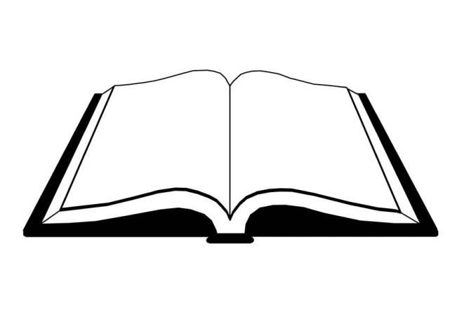 Libros Abiertos Para Colorear