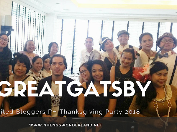 The Great Gatsby Theme: United Bloggers Philippines Thanksgiving Party 2018