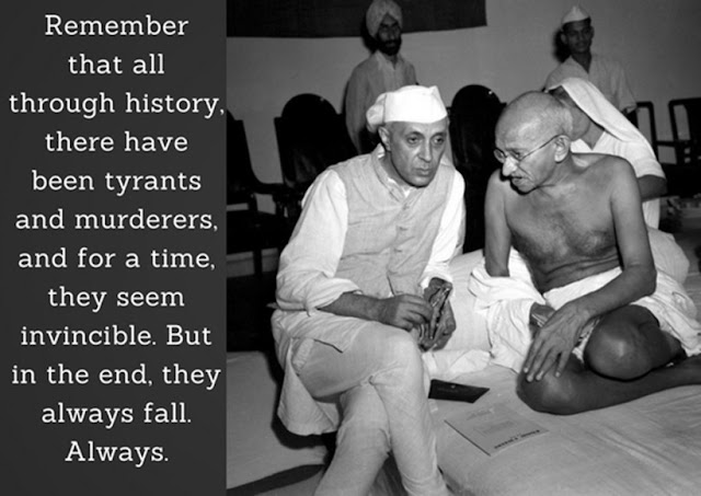 Mahatma Gandhi ON LEARNING FROM HISTORY