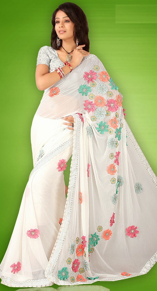 Indian Fancy Saree Collection Stylish Indian Actress Saree