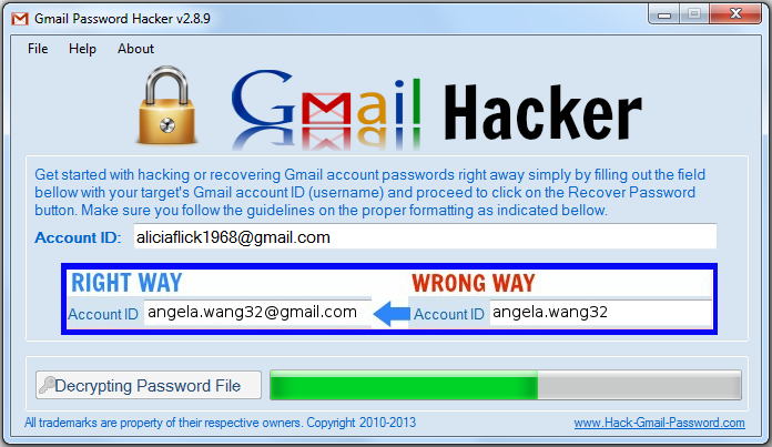 Free Gmail Password Hacking Software Full Version Limighost Over Blog Com