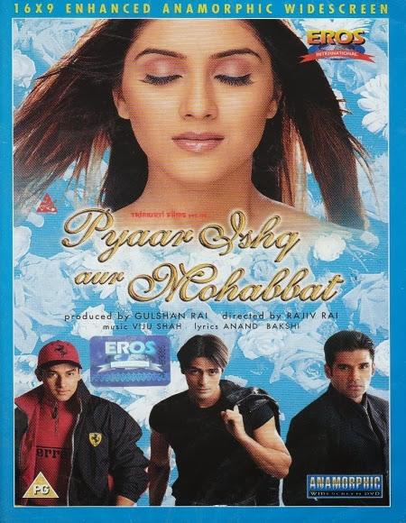 Pyaar Ishq Aur Mohabbat 2001 DVDRip 700mb