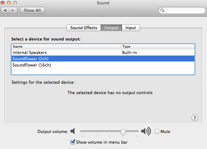 audio_maelstrom: Use Soundflower to Route Mac System Audio