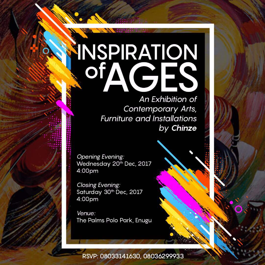 Special Invitation To An Art Exhibition The Inspiration Of Ages