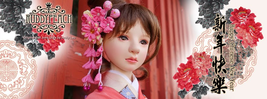 RuddyPeach Porcelain Ball Jointed Dolls