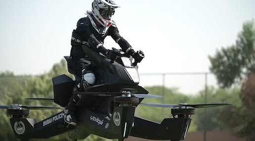 PHOTOS: Dubai Police Now Training On Flying Bikes