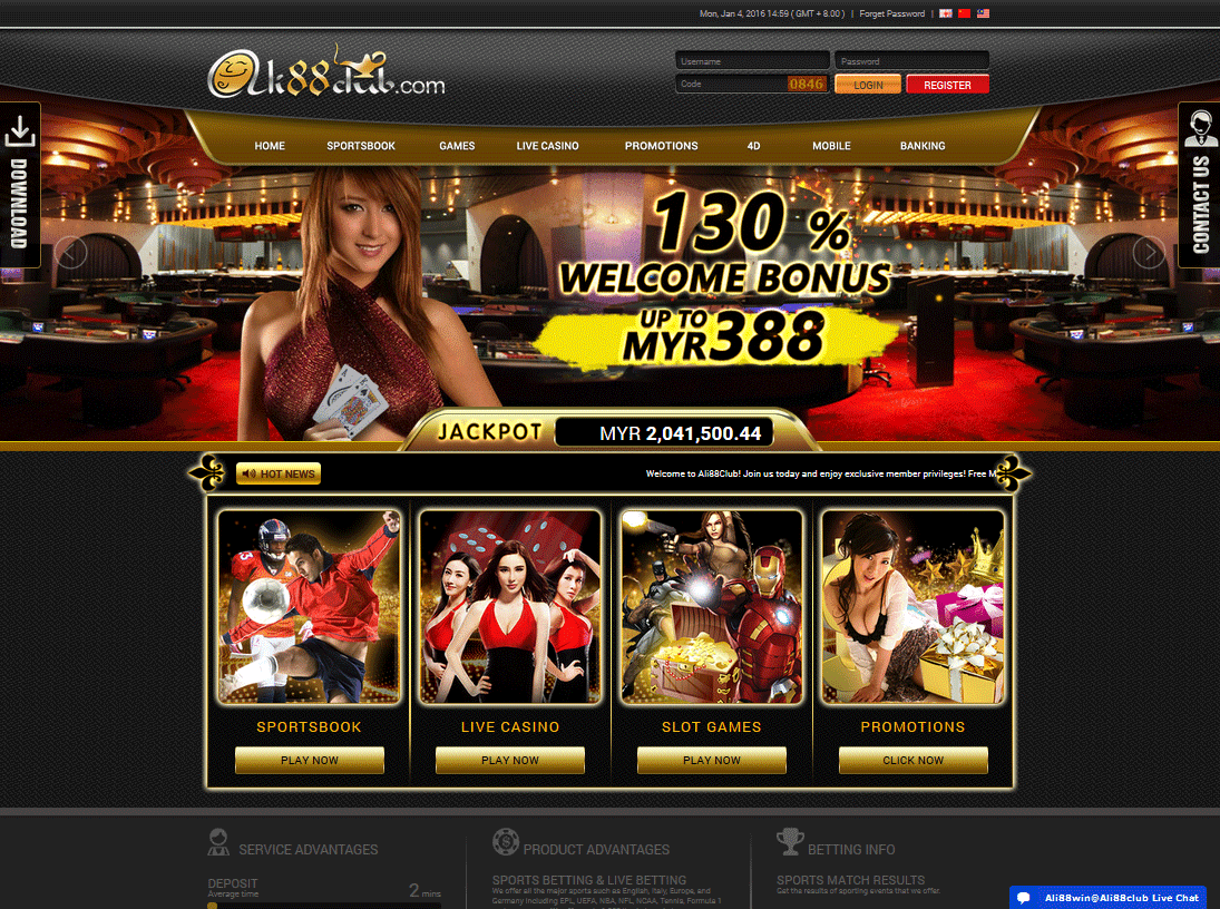 new online casino in malaysia history