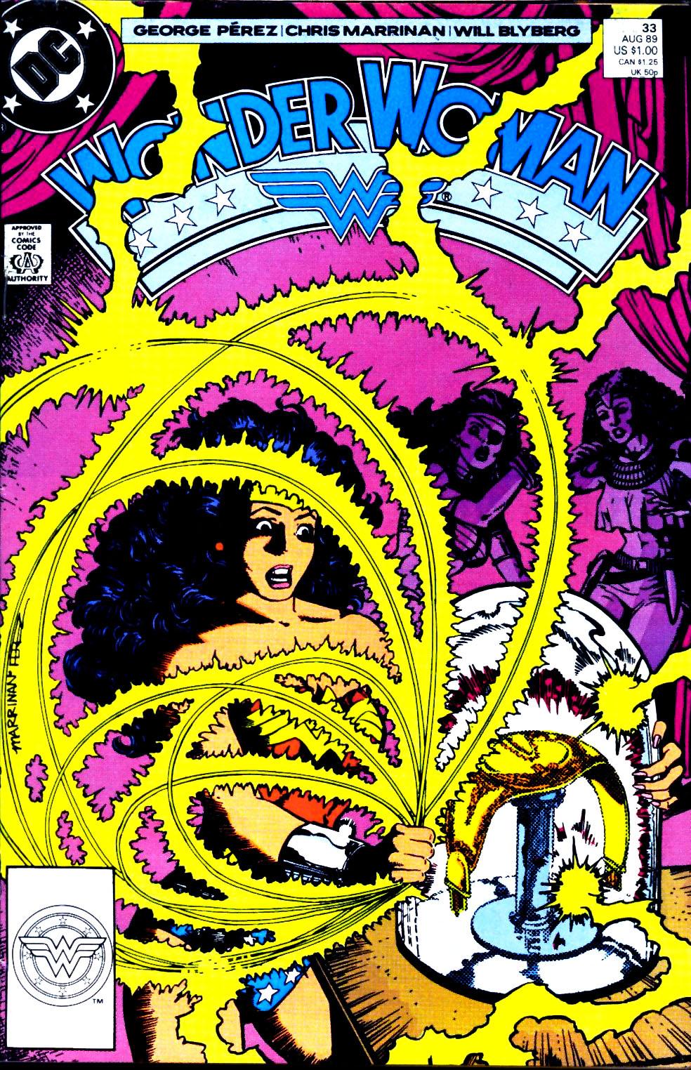 Read online Wonder Woman (1987) comic -  Issue #33 - 1