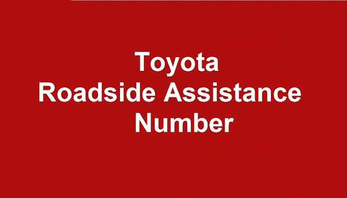 Toyota  Roadside Assistance Number 2021