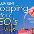Cover Reveal -  Shopping for a CEO's Wife  by Julia Kent