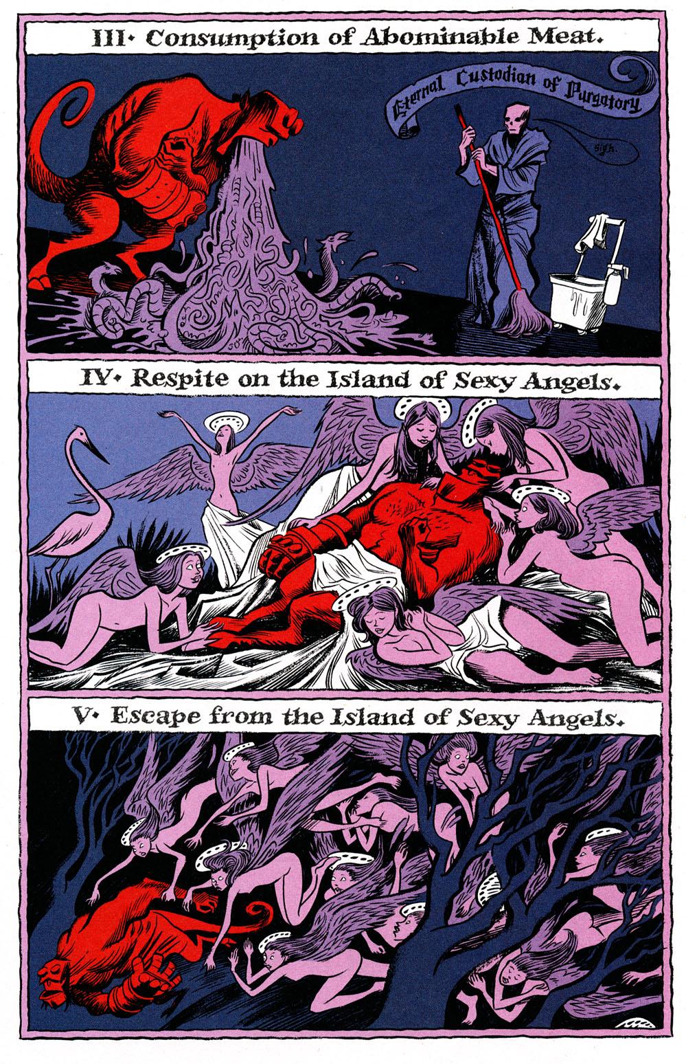 Read online Hellboy: Weird Tales comic -  Issue #6 - 18