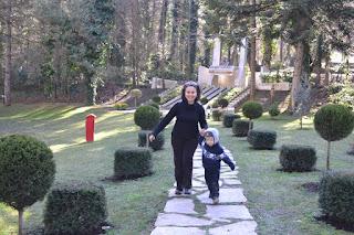 Anneyle gezinirken, Güral Sapanca Wellness Park, Sapanca