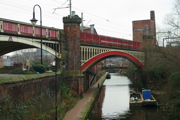 manchester castlefield canaux