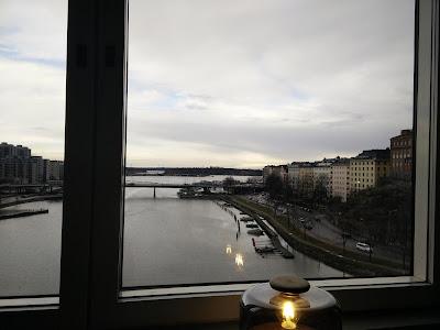 Seaview from Hilton Strand Helsinki Executive Lounge