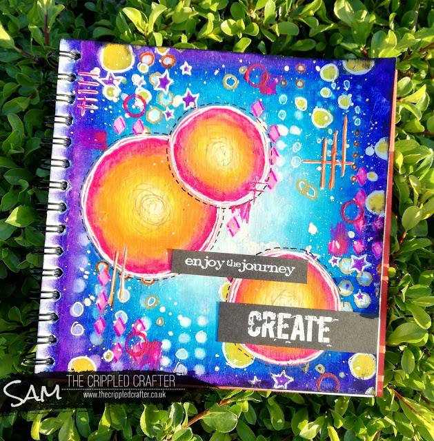 Intuitive Art Journaling with Sam Lewis AKA The Crippled Crafter