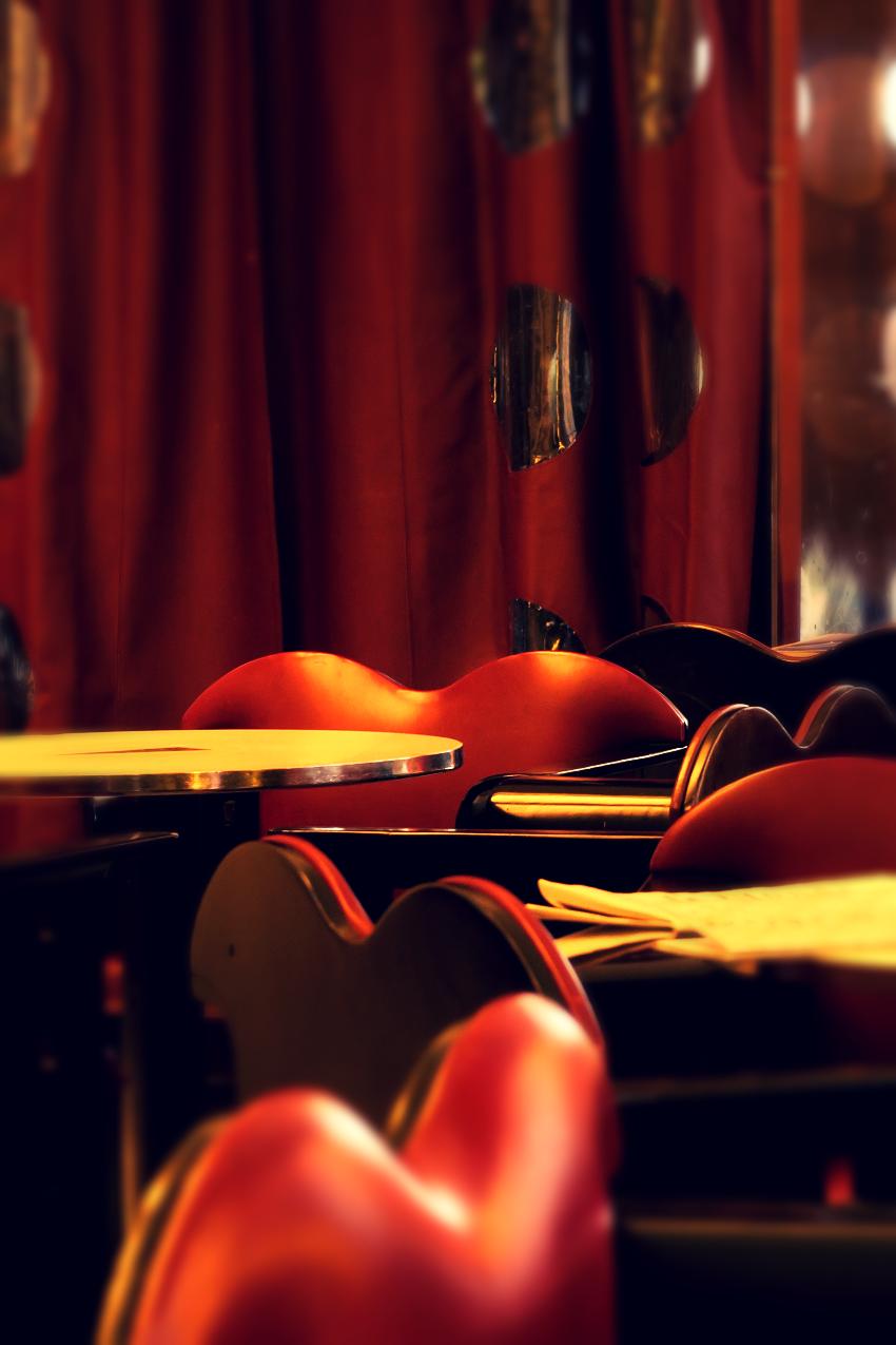 fauteuils, rideaux