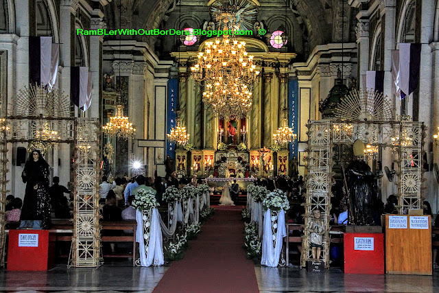 interior, san augustin church, Intramuros, Manila, Philippines