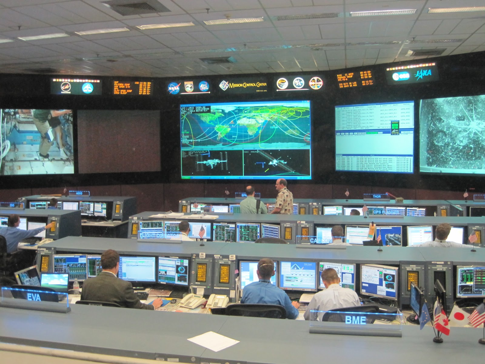 Space Mission Control Center - Pics about space