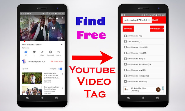 How To Find Any Youtube Video Tag - Download Tag Find Application