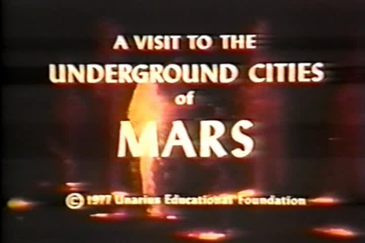 A Visit to the Underground Cities of Mars (1977 ...