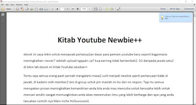 ebook youtube, kitab youtube, penduan youtube,youtube pemula