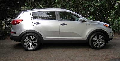 2011 Kia Sportage EX AWD - Subcompact Culture