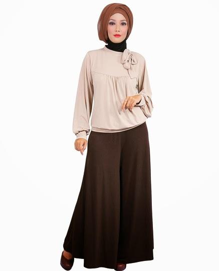 Model Baju Muslim Wanita Kerja 2017