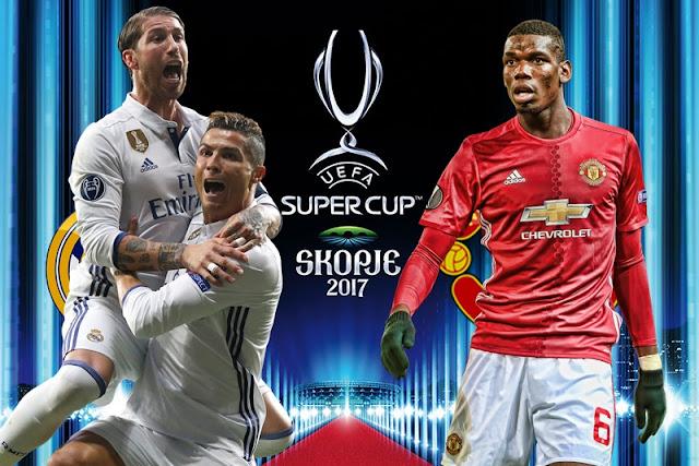 Supercopa da UEFA 2017 - Real Madrid x Manchester United - Data, horário, TV e local