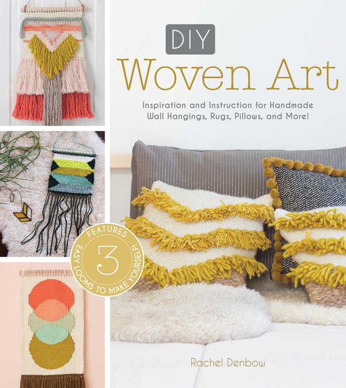 DIY Positive Vibes Rug + DIY Woven Art Book   Poppytalk
