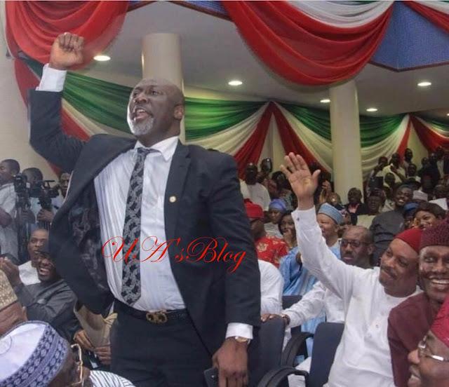 Ekiti guber: Dino Melaye accuses Buhari of militarising democracy