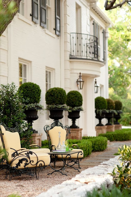 outdoor dream -  topiaries