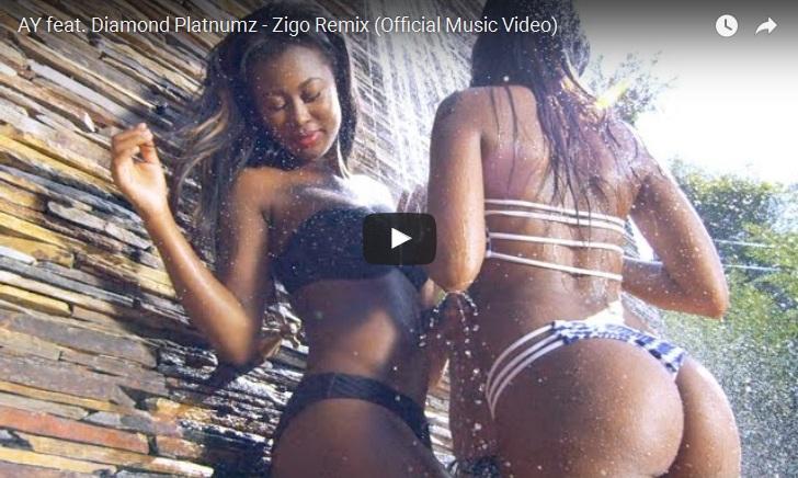 Kenyan Ladies Twerk Hard As AY Performs Zigo At Galileo Lounge!