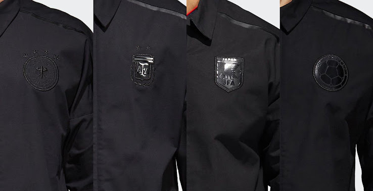 Blackout 'Stealth' Adidas Germany, Argentina, Colombia