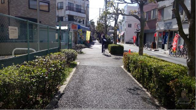 Jalanan di kawasan Katsushika