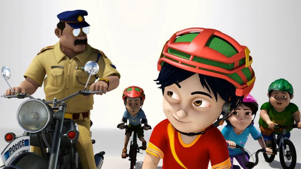 Gambar shiva dan teman-temannya_Serial Kartun Shiva dan Sepeda ANTV