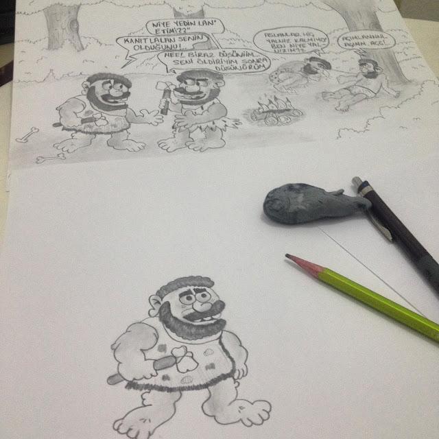 Çizdiğim karikatürlerden @blogtecrübem