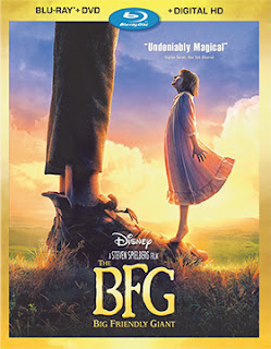 DVD & Blu-ray Release Report, The BFG, Ralph Tribbey