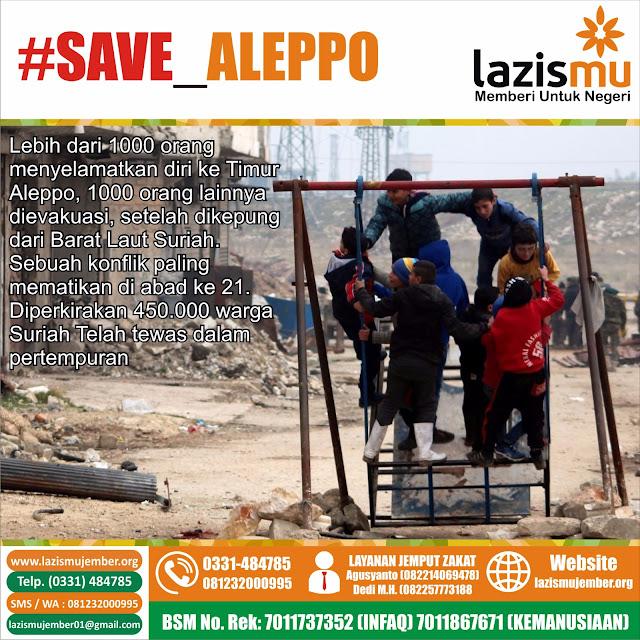 Aksi Donasi untuk Muslim Aleppo Suriah